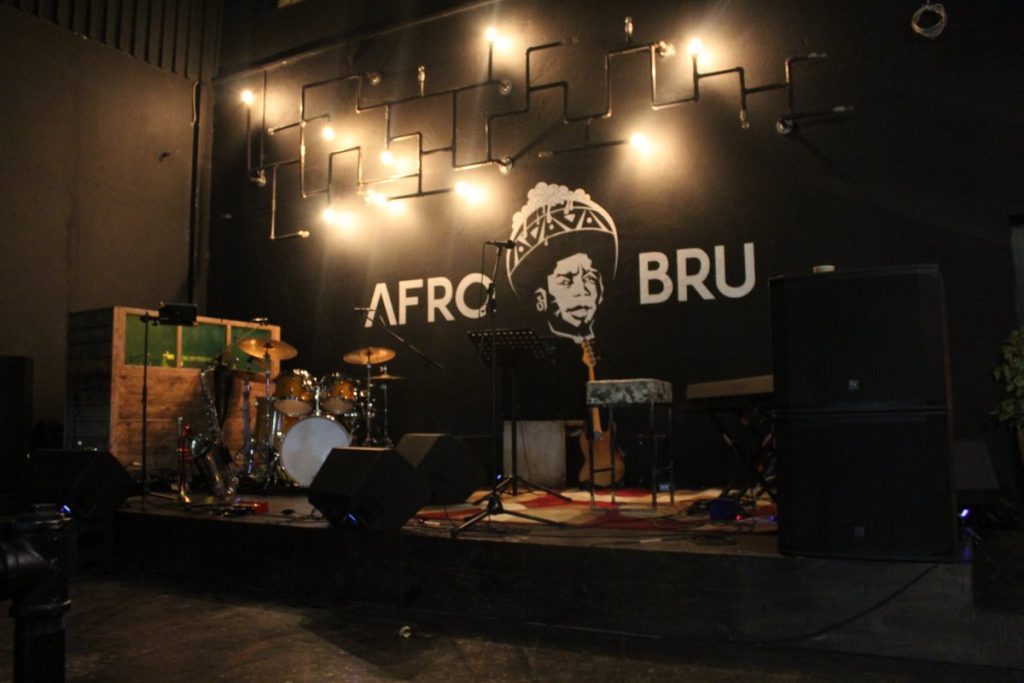 Afro Bru in Maboneng
